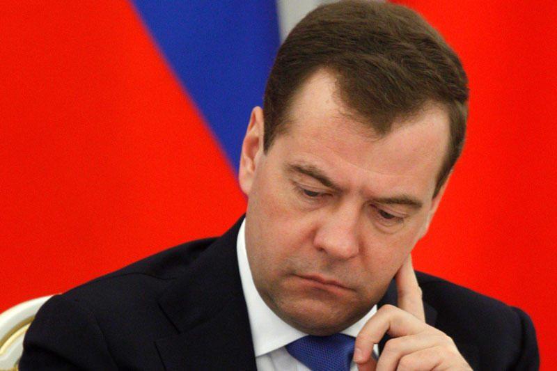 """D. Medvedevas saugumo pajėgas išvadino """"ožiais"""""""