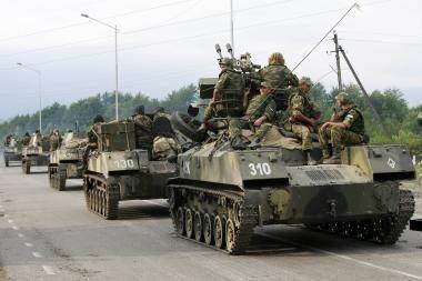 Rusija vėl paraginta trauktis iš Gruzijos
