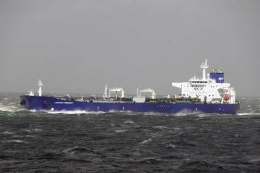 700-asis tanklaivis Būtingės naftos terminale -