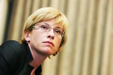 I.Šimonytė: laikas realiai mokesčių reformai ateis po krizės