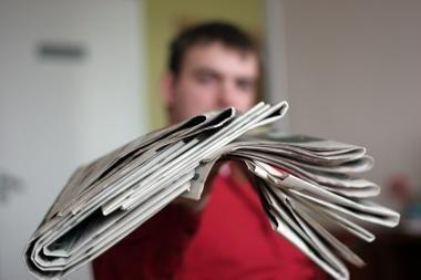 """Daugiausiai kompensacijų už laikraščių pristatymą - """"Respublikos"""