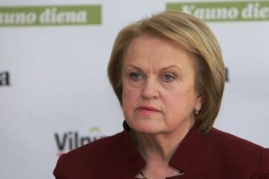 Teisingumo ministerija atsisakė registruoti K.Prunskienės partiją