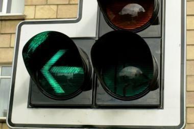 Vilniaus šviesoforų sistema: visiems geras nebūsi