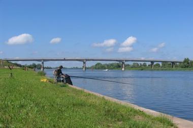 Nemuno deltoje bus galima žvejoti be licencijų