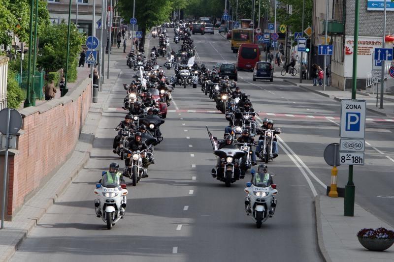 Klaipėdos baikeriai atidarė vasaros sezoną