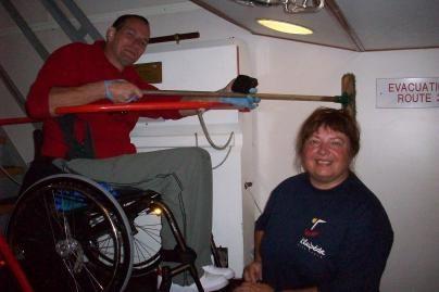 Negalia - ne kliūtis buriuoti