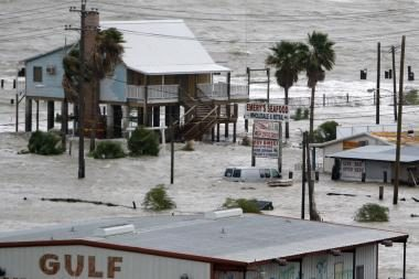 Uraganas Ike pasiekė Teksasą