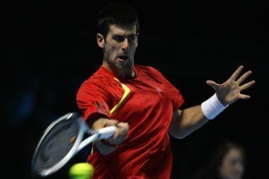 Antroji pergalė Serbijos tenisininko gali neišgelbėti