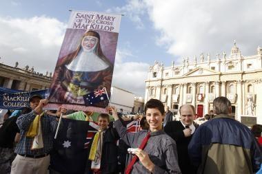 Popiežius kanonizavo pirmąją Australijos šventąją