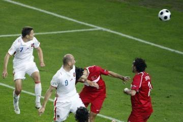 """""""Euro 2008"""": paaiškėjo pirmoji ketvirtfinalio pora"""