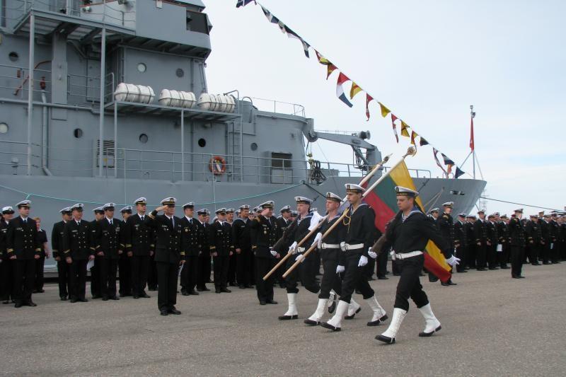 Klaipėdoje - Karinių jūrų pajėgų šventė
