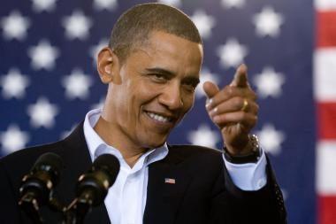 B.Obamą siūloma įamžinti vieno dolerio kupiūroje