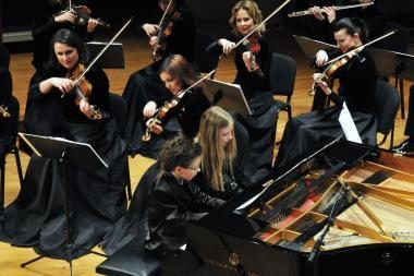 Žaismingos muzikos orkestras intriguoja nauja programa