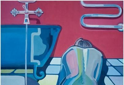 """Parodoje """"Raudona ne mėlyna"""" – pozityvus moteriškumas ir gaivi tapyba"""