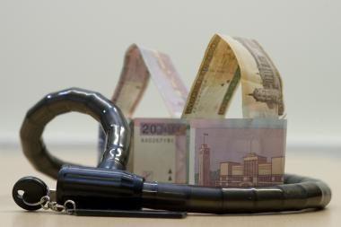 Lapkritį įregistruota mažiau įmonių turto areštų