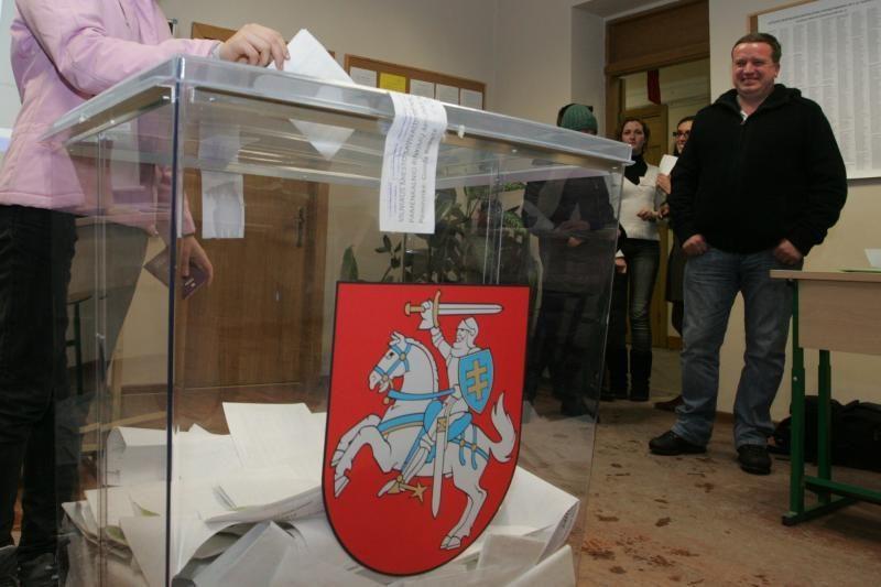 Rinkėjai balsuoja už žemesnio balso kandidatus