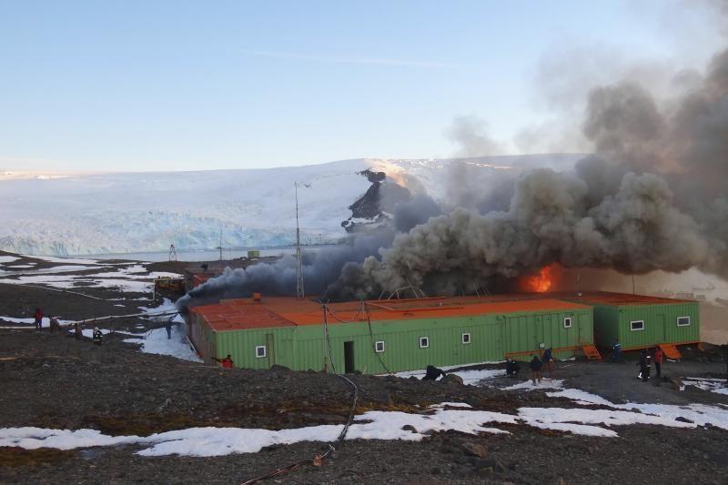 Per sprogimą Brazilijos bazėje Antarktidoje žuvo du žmonės