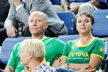Vilniaus merui patarinės vidaus reikalų ministro žmona