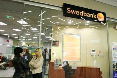 Skandinavijos bankai ir toliau atsiima pinigus iš savo padalinių Lietuvoje