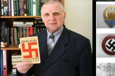 Istorikui P.Stankerui už straipsnį apie Holokaustą gresia 2 metais nelaisvės