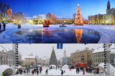 Vilniuje ledas 800 kartų brangesnis nei Kaune