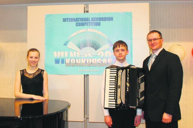 Akordeono dieną koncertuos jaunieji Klaipėdos talentai