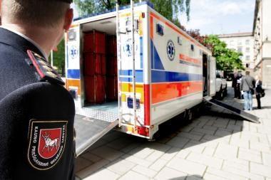Lenkų siūloma mobili gelbėtojų priekaba Kaunui per brangi?