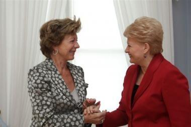 Prezidentė: Lietuva privalo sklandžiai pereiti prie skaitmeninės televizijos