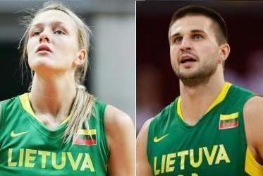 Krepšininkai G.Petronytė ir L.Kleiza - geriausieji Lietuvoje