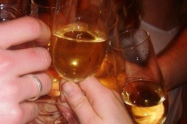 Dieną be alkoholio - dešimtys neblaivių mokinių