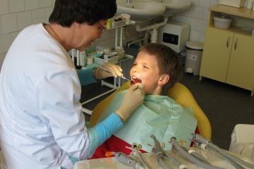 Pagalba vaikų dantims – nemokama