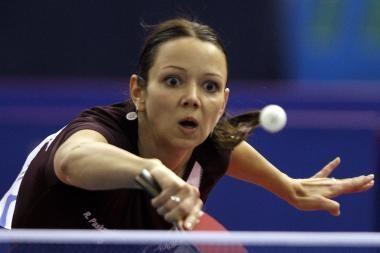 Lietuvos stalo tenisininkės atsirevanšavo portugalėms