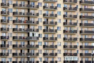 Butų ir namų prekybos sandorių šiemet užfiksuota daugiau