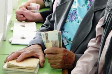 I.Degutienė: neapkarpius pensijų ir kitų socialinių išmokų, jų mokėjimas gali strigti