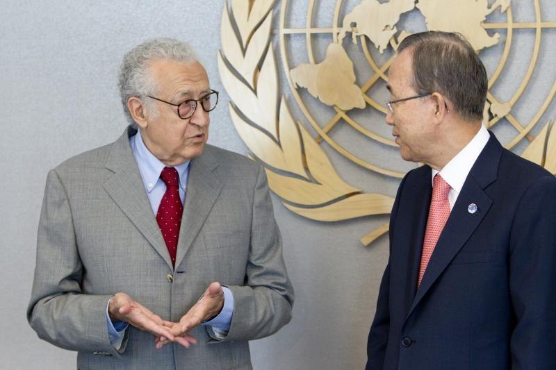 Vadovavimą deryboms Sirijoje perėmė L.Brahimi
