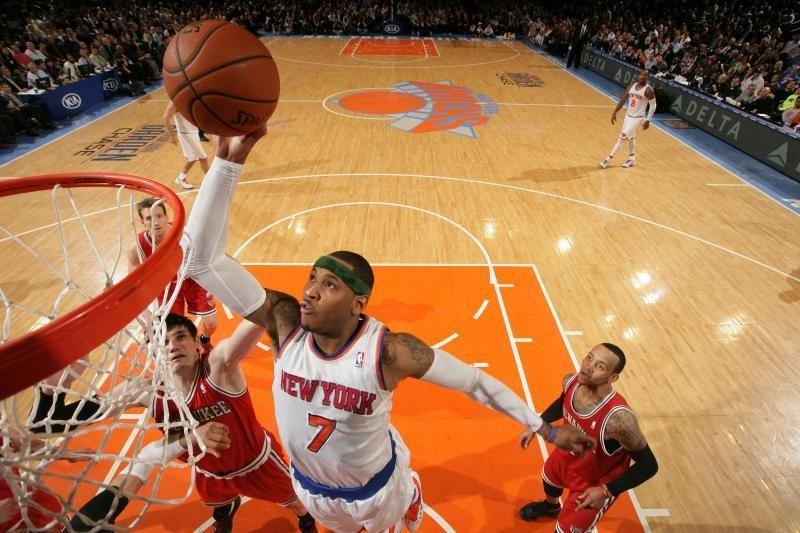 """""""Knicks"""" klubas tęsia pergalių seriją, C. Anthony - sužvėrėjęs"""