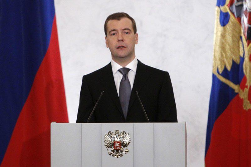 D.Medvedevas atmetė Gruzijos pretenzijas dėl vizito Pietų Osetijoje