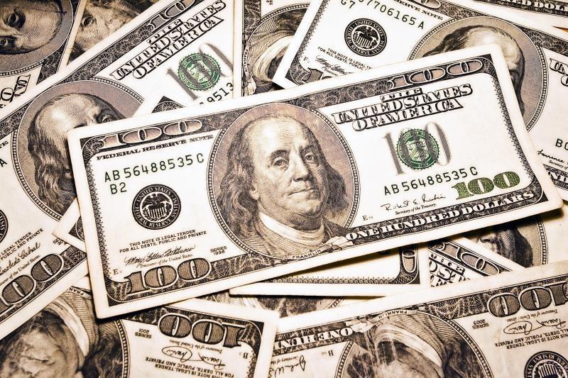 Sumažintas JAV skolinimosi reitingas skandina dolerį