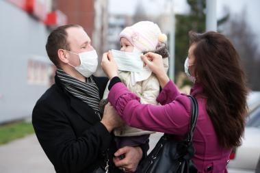 Gripo epidemija pamažu traukiasi iš Kauno