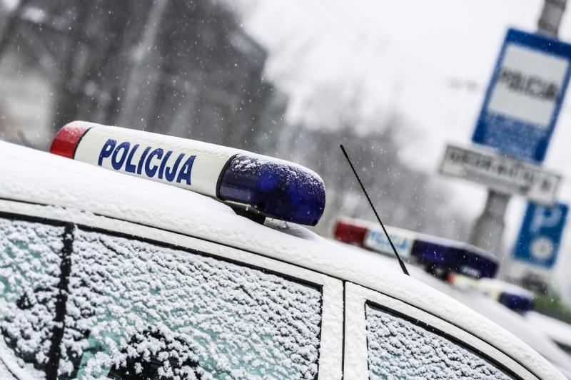 Vilniaus policininkai išgelbėjo gyvybę užsieniečiui