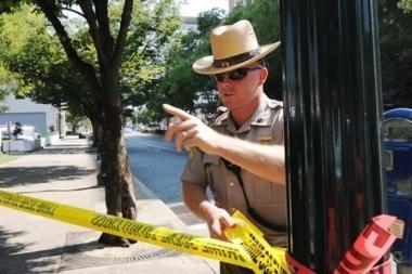 JAV policija nušovė aktyvistą, laikiusį tris įkaitus