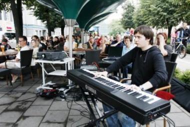 Vilniaus Nebyliojo Kino Džiazas keliauja į Kauną