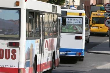 Keičiasi 13 maršruto autobusų trasa