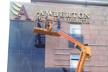 """Viešbučiai """"Klaipėda"""" keičia pavadinimą ir tampa """"Amberton"""""""