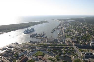 Krova  Klaipėdos jūrų uoste išaugo