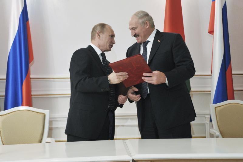 """Rusijos ir Baltarusijos santykiams prognozuoja """"didžią ateitį"""""""