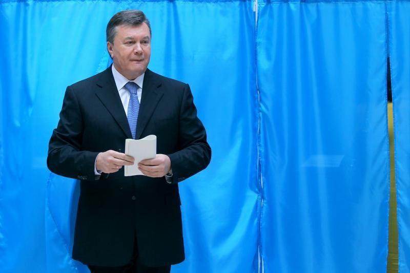 Rinkimai Ukrainoje: Janukovyčiaus partija pirmauja