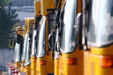 Vilniaus autobusai ir troleibusai šeštadienį dirbs kaip darbo dieną