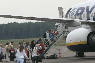 Į Kauną skridusiame lėktuve kilo muštynės
