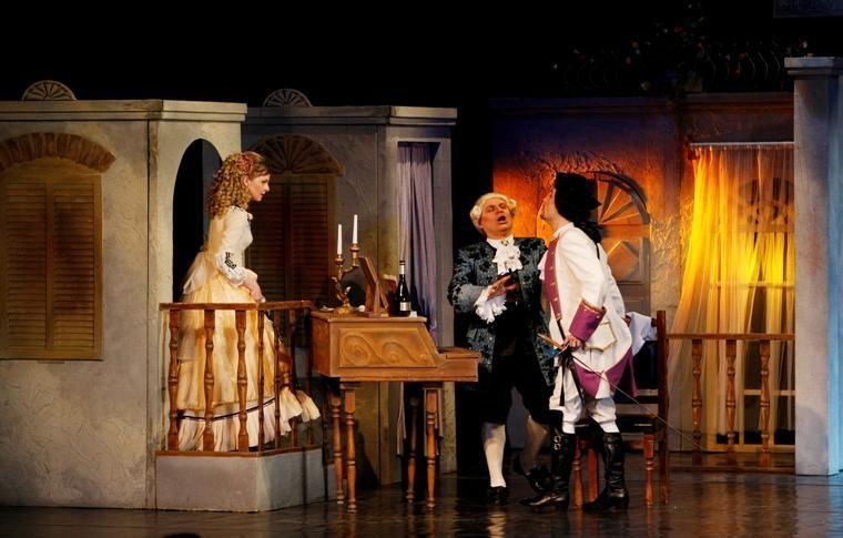 Festivalinė operos naktis – Klaipėdos laikrodžių muziejaus kiemelyje